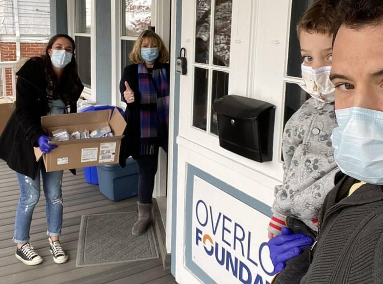 Overlook Foundation Donation dropoff