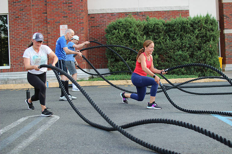 Battle Ropes - Outdoor Group Exercise