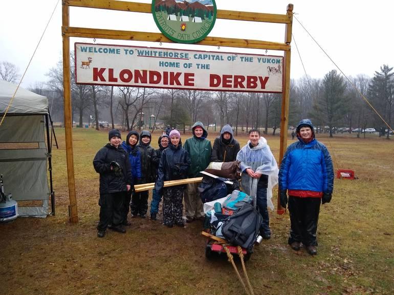 BSA Troop 104 Klondike Derby Second Place Finish