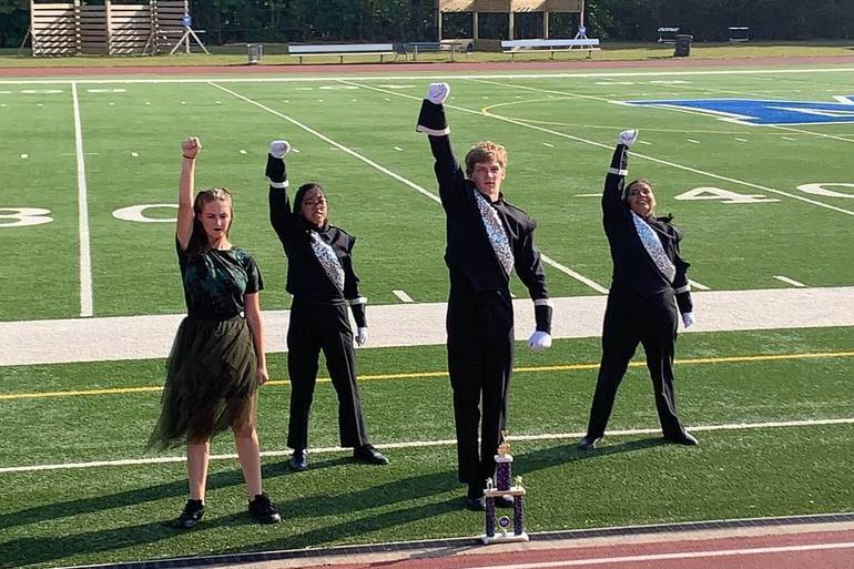 From Camp to Competition - Months of Hardwork Pay Off for S.P.H.S. Marching Band