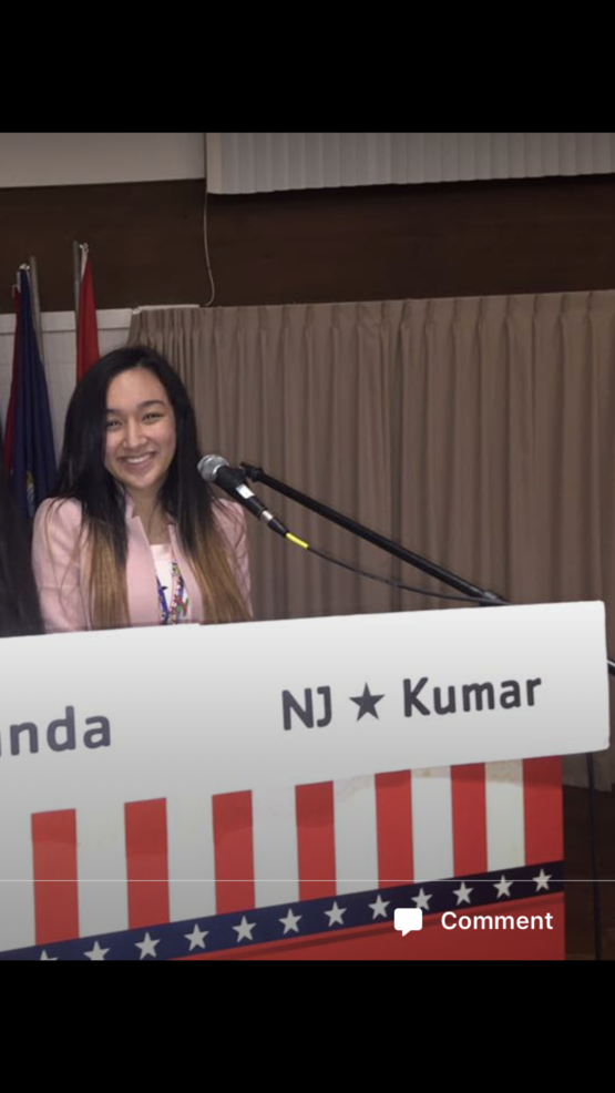 Holmdel High School Student Tiffany Kumar Represents New Jersey with the  National Association of Secretaries of State