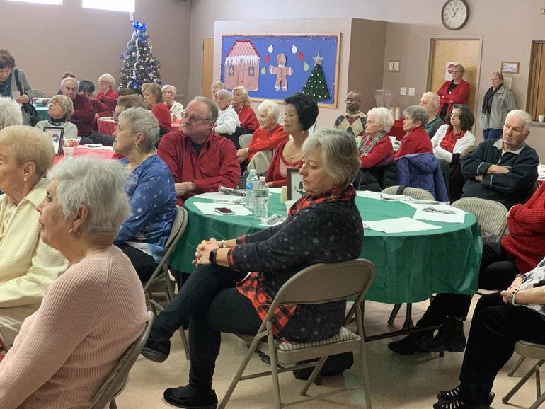 South Plainfield Senior Center Celebrates the Holidays in Style