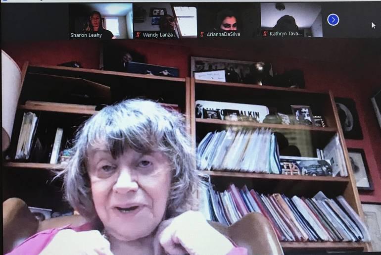 Holocaust Survivor Fran Malkin Shares Her Story with Gov. Livingston Students