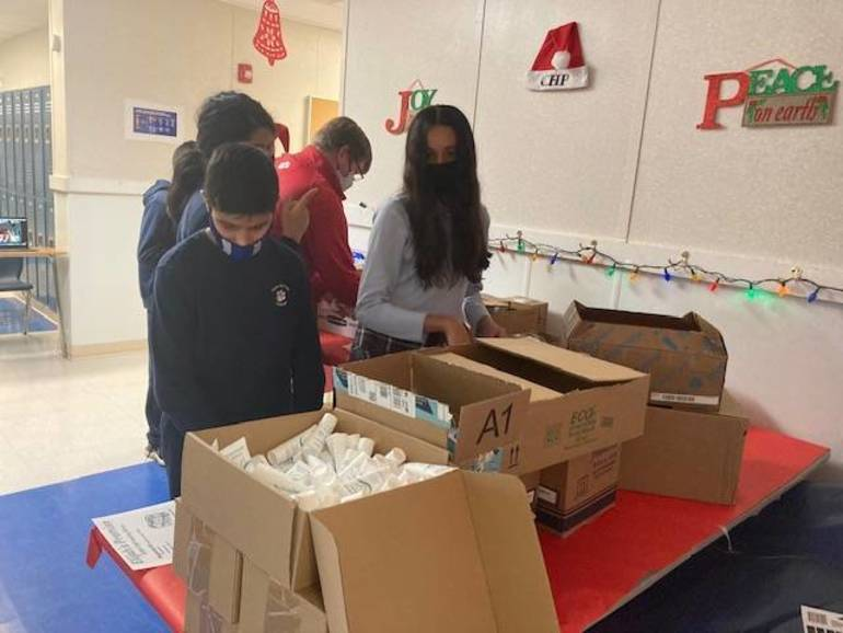 Cedar Hill Prep Students donate to Elijah's Promise