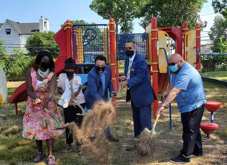 Ground Broken on $200K Renovation to Baer Park