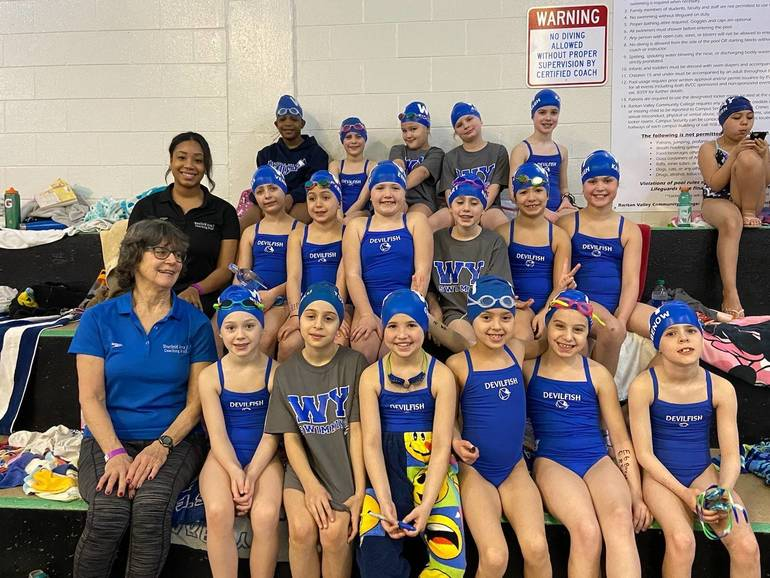Westfield Area YMCA Devilfish Send Youngest Swimmers to 8U Championships