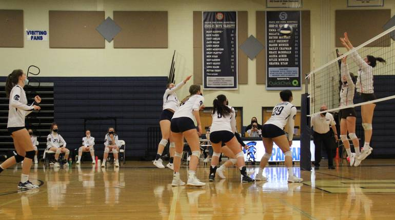 Sparta Volleyball Moves Easily to the NJSIAA Section 1, Group 2 Finals