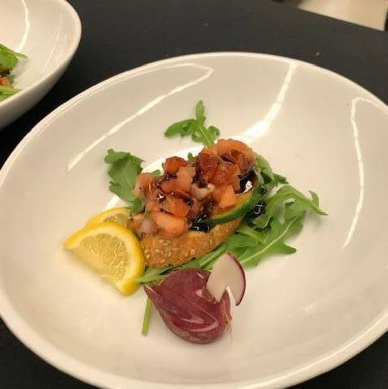 Sussex Technical High School students competed in a Culinary Throwdown