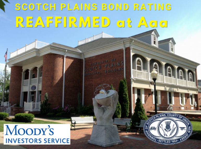 Scotch Plains' Bond Rating Shows the Township on Strong Financial Footing