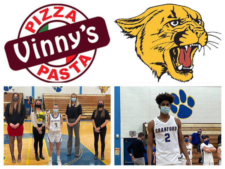 Vinny's Pizza & Pasta Cranford Senior Athletes of the Week: Caroline Bush & Arjun Petgrave