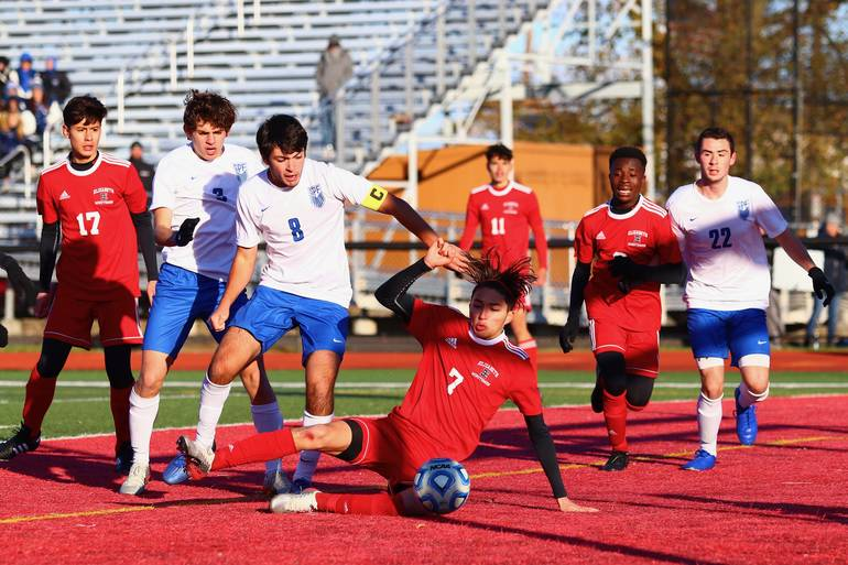 Boys Soccer: Scotch Plains-Fanwood Dominates Game, But Falls to Elizabeth, 1-0, in Sectional Final
