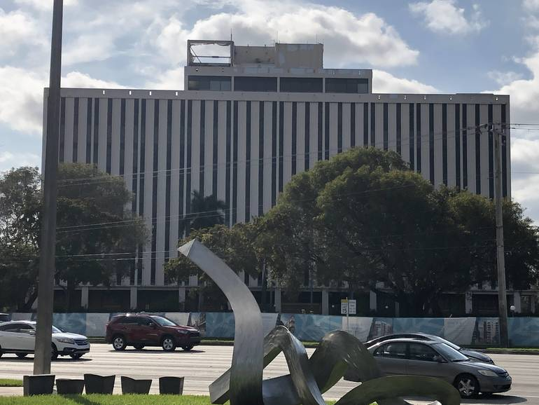 Plans Announced For Demolishing Downtown Coral Springs Financial Plaza