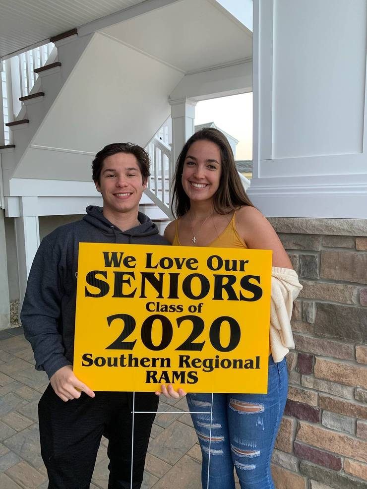 Class of 2020: Sophia and Michael DelValle