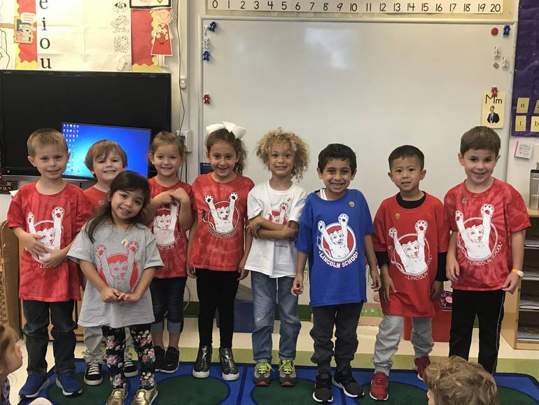 Lincoln School Spirit Day