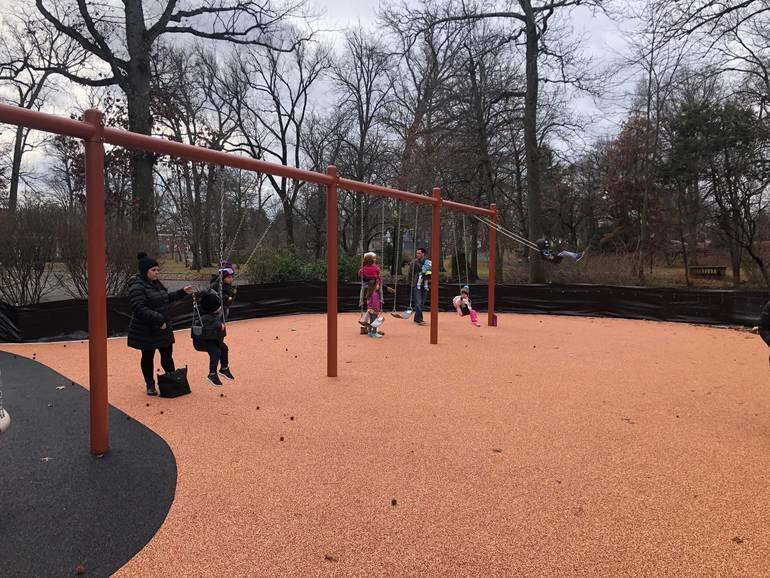 Swings- Mindowaskin Playground