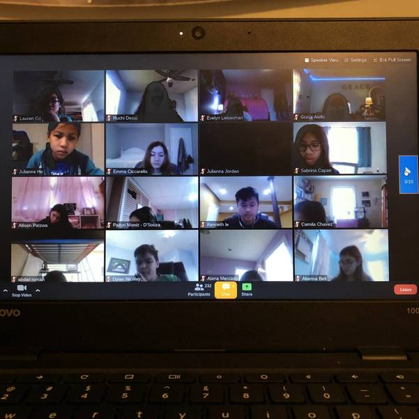 Scotch Plains-Fanwood, South Plainfield, Choral Students Join Together for Virtual Field Trip