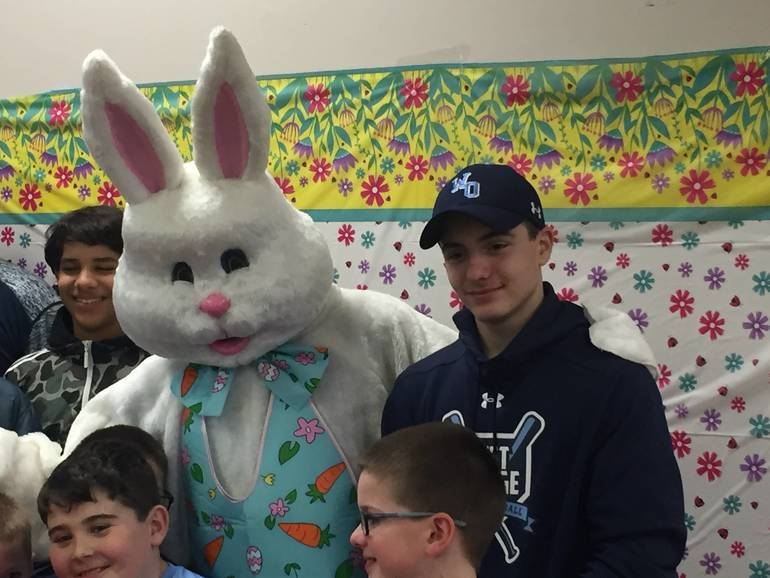 WO PAL at the WOSEPAC Easter Egg Hunt