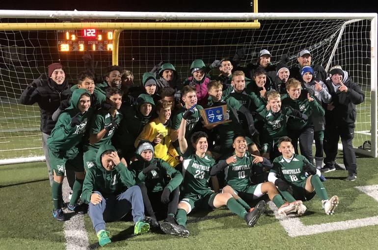 Montville boys soccer wins sectional title
