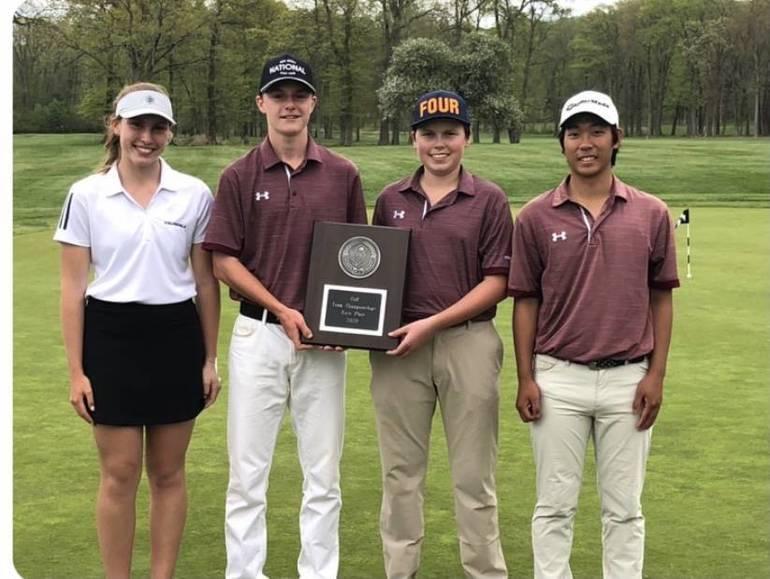 Morristown High School Golf Team Wins Morris County Tournament