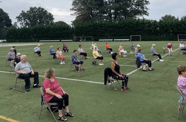 Meatball Monday, Chair Yoga, Zumba and Flu Shots – South Plainfield Seniors are Busy This Fall!