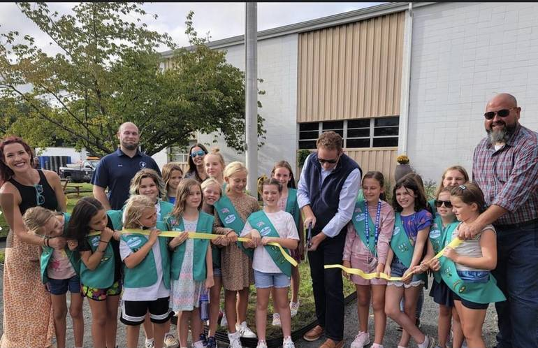 Middletown Township Officially Opens Eco-Garden, Girl Scouts of the Jersey Shore Invited to Join Ribbon Cutting