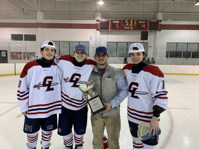 Ice Hockey: Silverman Goal in Double Overtime Hands Highlanders Msgr. Kelly Cup