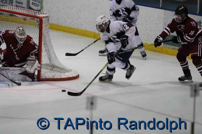 Randolph Boys Ice Hockey Celebrates Senior Night; Rams Fall to No. 6 Ranked Morristown Beard