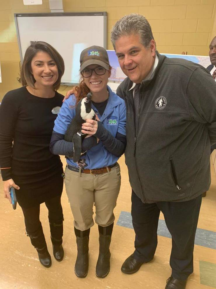 West Orange Chamber of Commerce, Turtle Back Zoo, Phil Alagia, Jessica Marrone Parkes