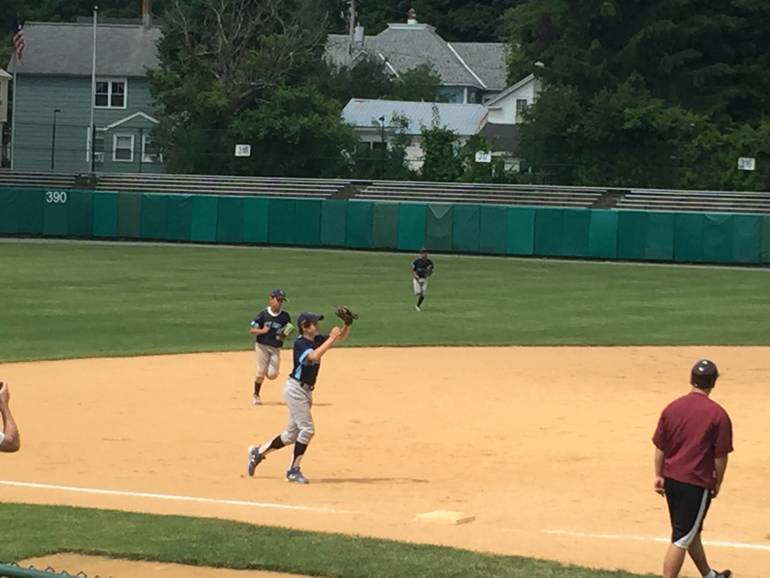 Cooperstown Baseball with the 14U team