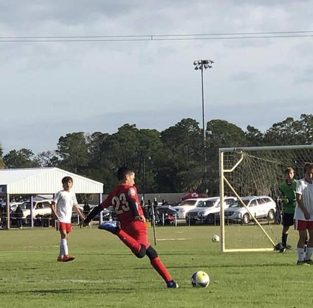 Parkland Soccer Club's Arthur Medina Travels To