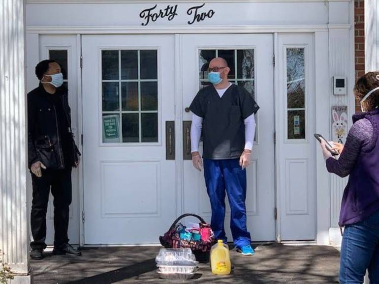 Montclair Residents, Religious Leaders Show Acts of Kindness to Long-Term Care Facility Hit Hard by COVID-19