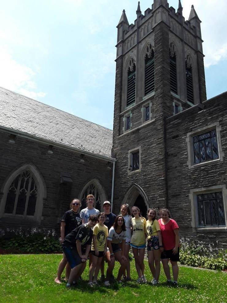 The Youth Mission Team from FUMC Westfield recently served for a week with The Philadelphia Project.