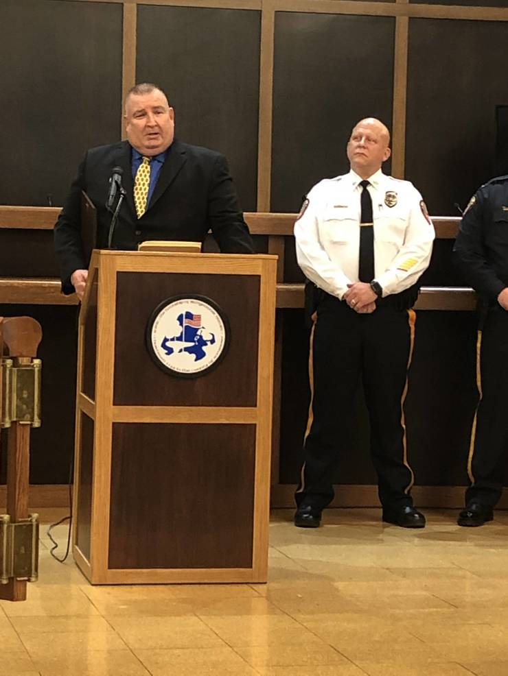 Retiring Bridgewater Officers Honored for Service with Walkout Ceremony