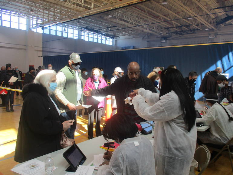 'Trusted Messengers', Prominent Paterson Clergy Join in Paterson Vaccination Effort