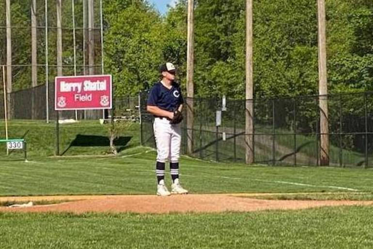 Gonzalez Takes No-Hitter into 6th, Pitches 2-Hitter for Chatham in Morris County Tournament Baseball Win vs. Morristown