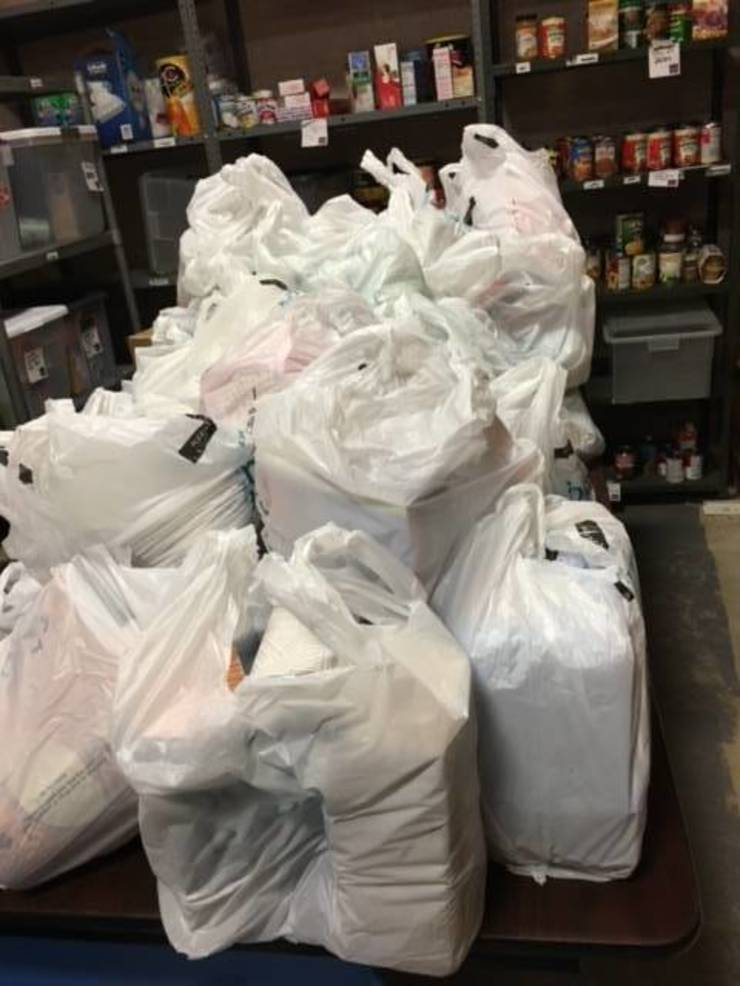 WEA Partners with PTO to Bring Food to Local Families