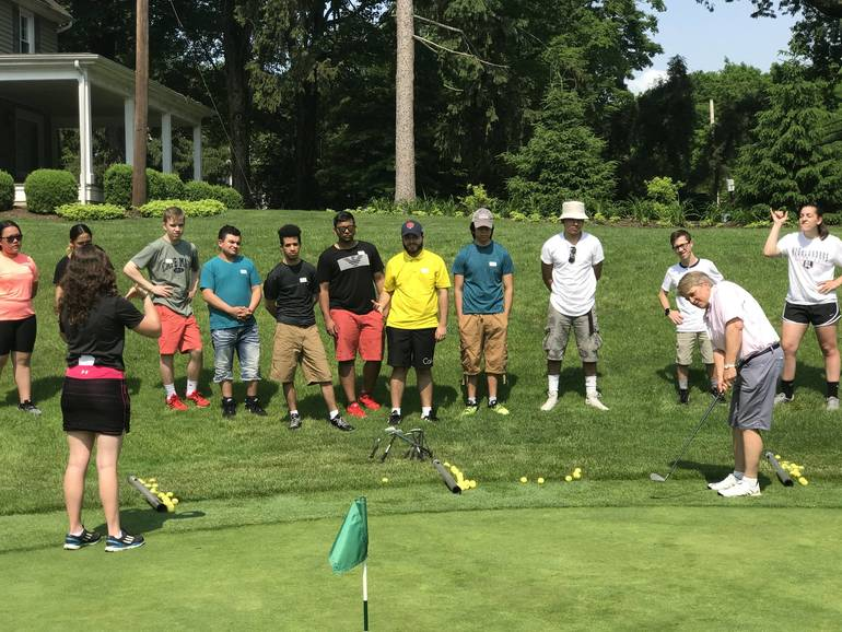 BRCC Hosts First Ever Deaf and Hard of Hearing Golf Clinic