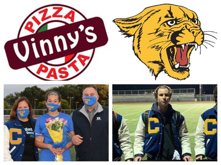 Vinny's Pizza & Pasta Cranford Senior Athletes of the Week: Sophia Montague and Ryan Dooley