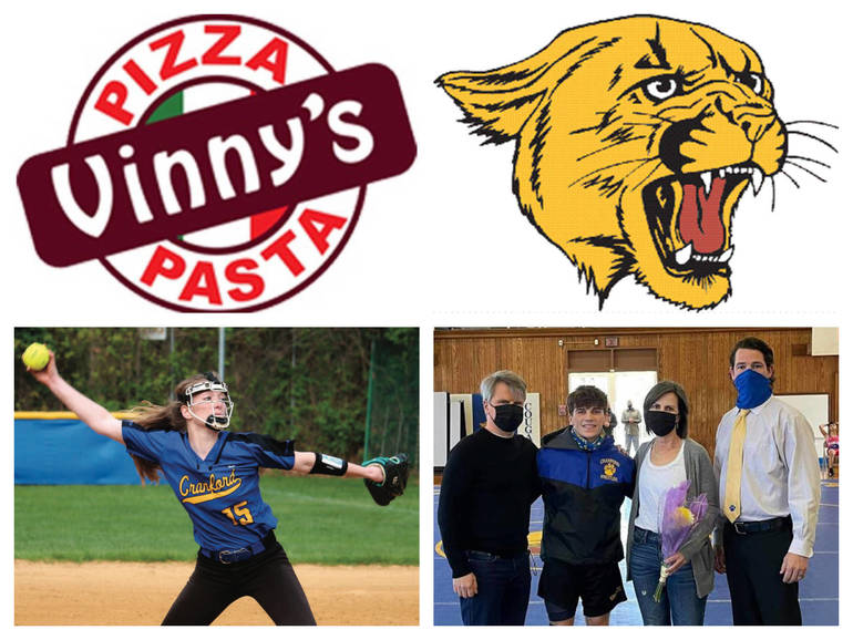 Vinny's Pizza & Pasta Cranford Senior Athletes of the Week: Morrigan Gardiner & Luke DiGiovanni