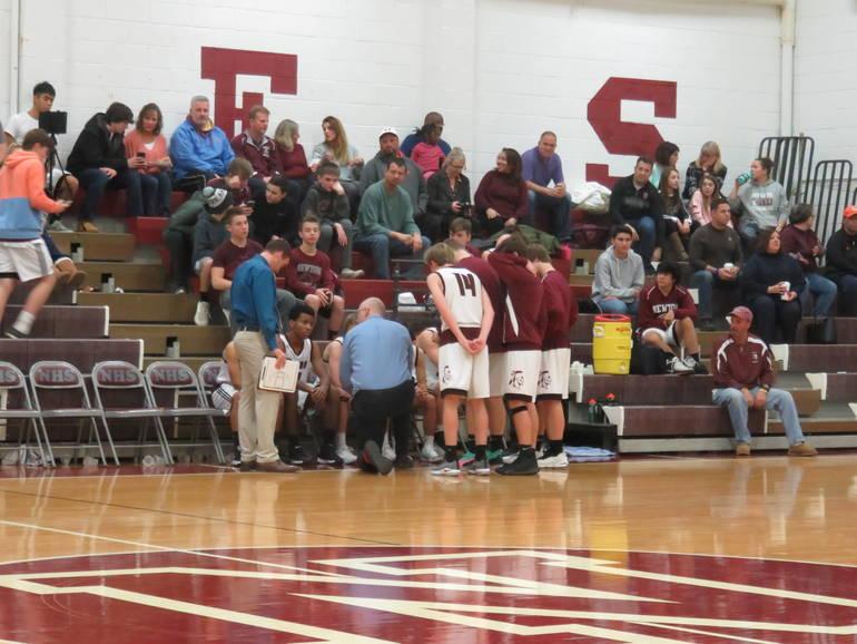 Newton Boys Basketball Team Defeated by Phillipsburg