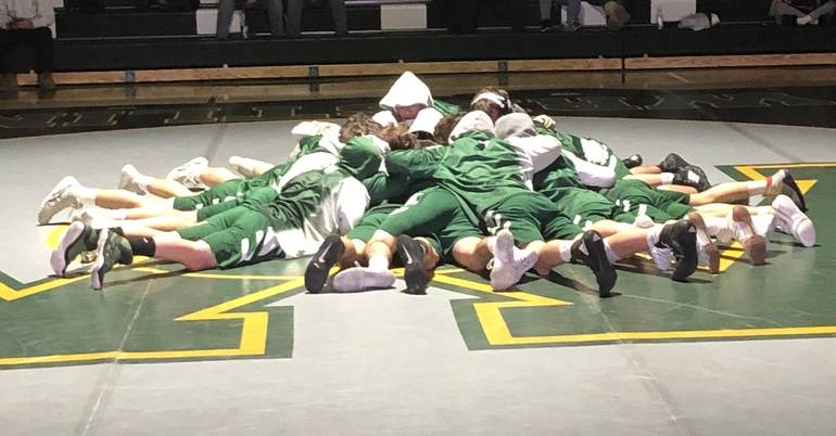 Montville wrestling hosts state-ranked Pope John