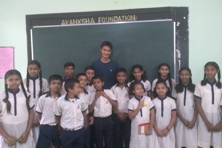 Short Hills Brothers Teach Children of Low-Income Communities in India