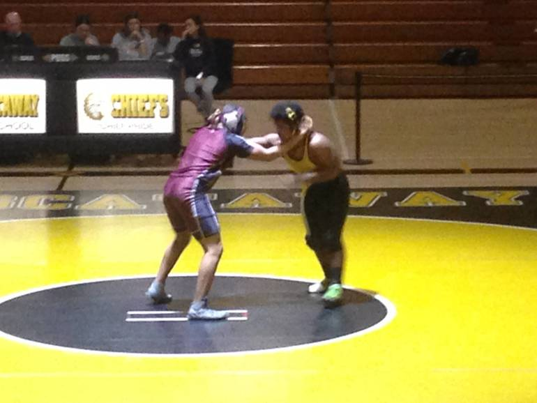 Piscataway Chiefs Wrestling Avoids Sting, Beats Bayonne Bees