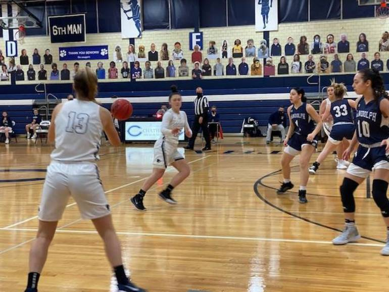 Casano-Boris Plays Key Role for Chatham Girls Basketball as Sub, Ford Drives Home Cougar Win Over Randolph in Closing Seconds