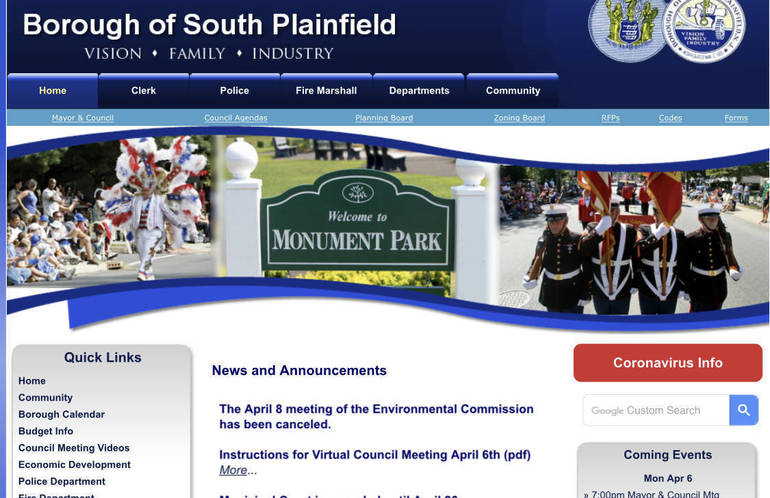 South Plainfield Borough Hall Adjusts to Pandemic to Meet Needs of Residents