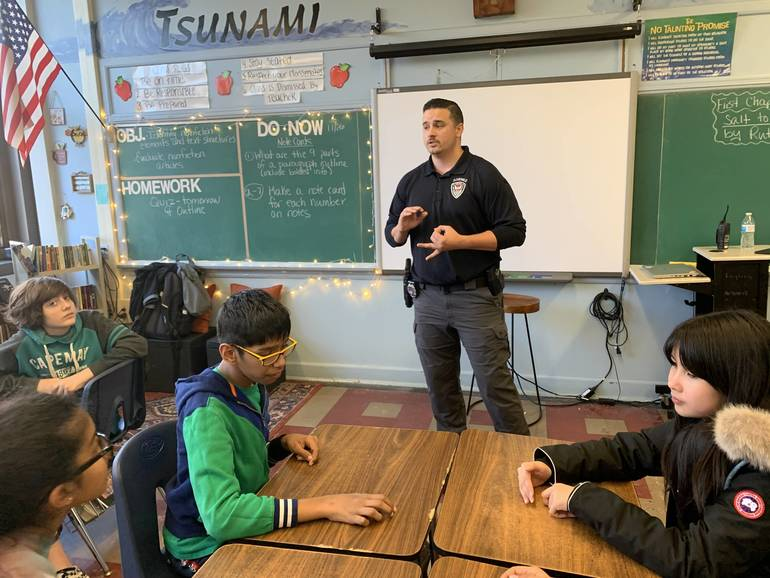 South Plainfield Middle School Students Learn What True Leadership Means