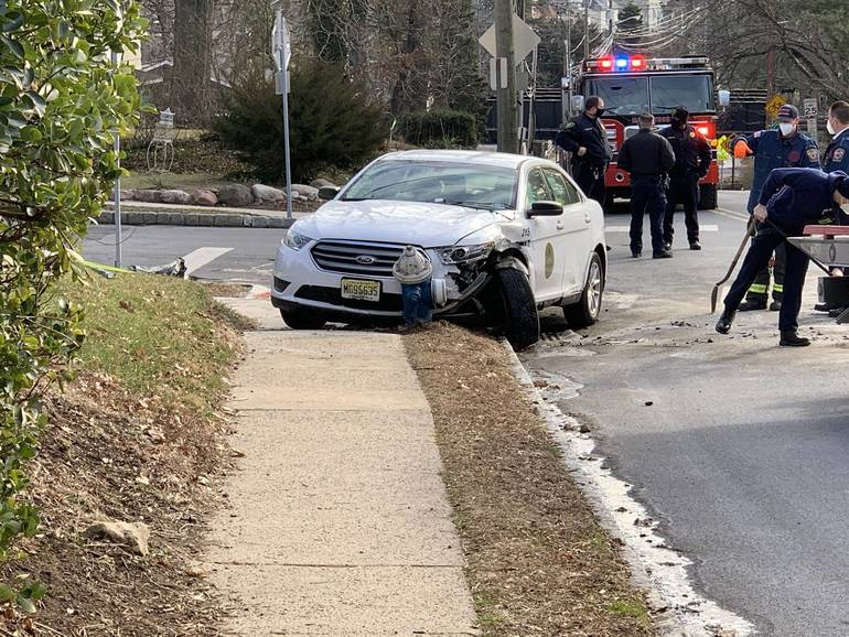 Auto Collision Involves Maplewood Township Vehicle