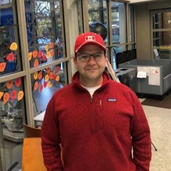Voter Robert Kahwaty