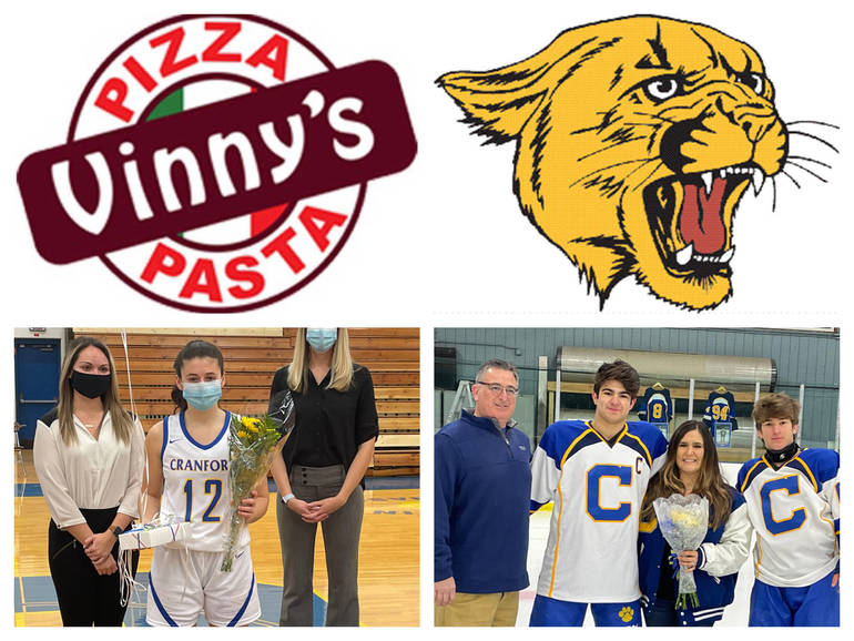 Vinny's Pizza & Pasta Cranford Senior Athletes of the Week: Olivia Merriman & Christian Wilde