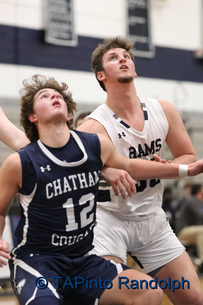 Randolph Boys Basketball Gets Full Team Effort in Victory Over Chatham